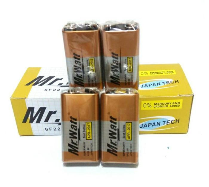 Baterai 9 V - Baterai Kotak 9V