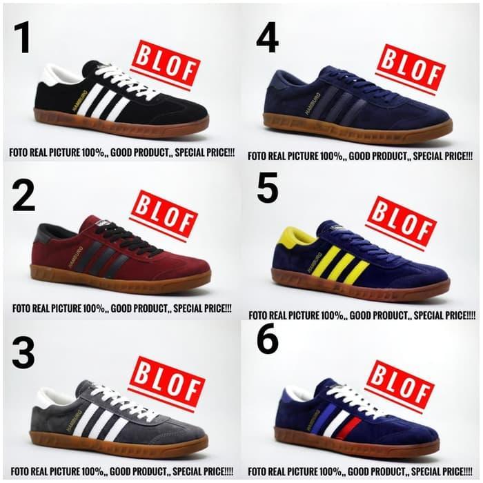HARGA SPESIAL!!! Sepatu Adidas Hamburg For Men Foto Real pict 100% Dengan Lebel - W23eYy