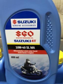 Harga preferensial OLI Mesin suzuki SGO 10W/40 4T 800ML beli sekarang - Hanya Rp31.408