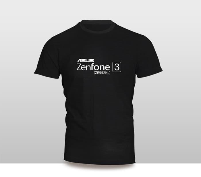 Hemat 10%!! Kaos Baju Pakaian Gadget Handphone Asus Zenfone 3 Ze552Kl Font Murah - ready stock