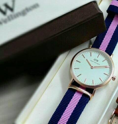 jam tangan rolex cokelat tua coklat watch merk bagus keren wanita