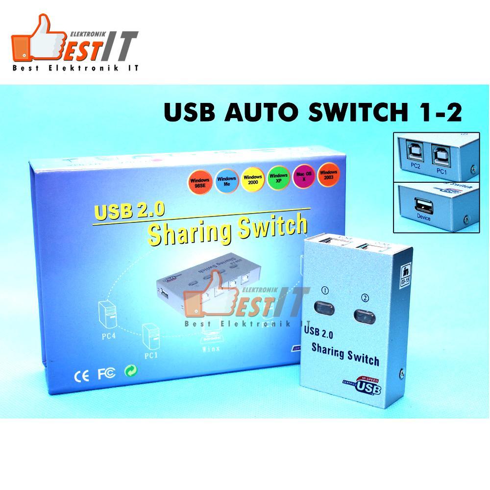 Usb Printer Sharing Switch Paralel 1-2 Auto