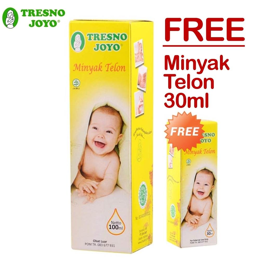 Tresno Joyo Minyak Telon 100ml + Free Minyak Telon 30ml By Lolibi.