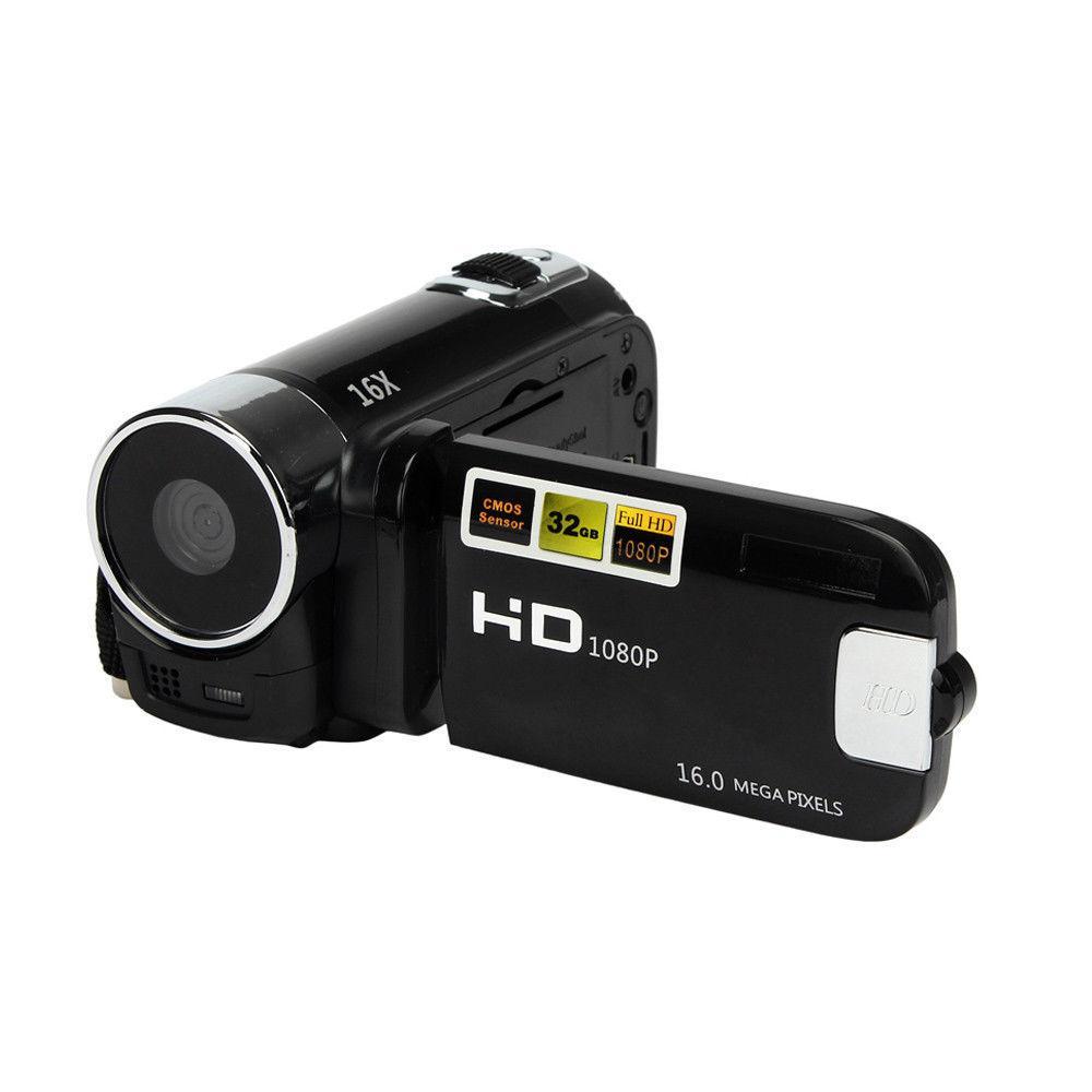 Kamera Camcorder, 16MP Digital Berdefinisi Tinggi Video Camcorder 1080 P 2.7 TFT Inchi Layar LCD 16X Zoom Kamera Perekam
