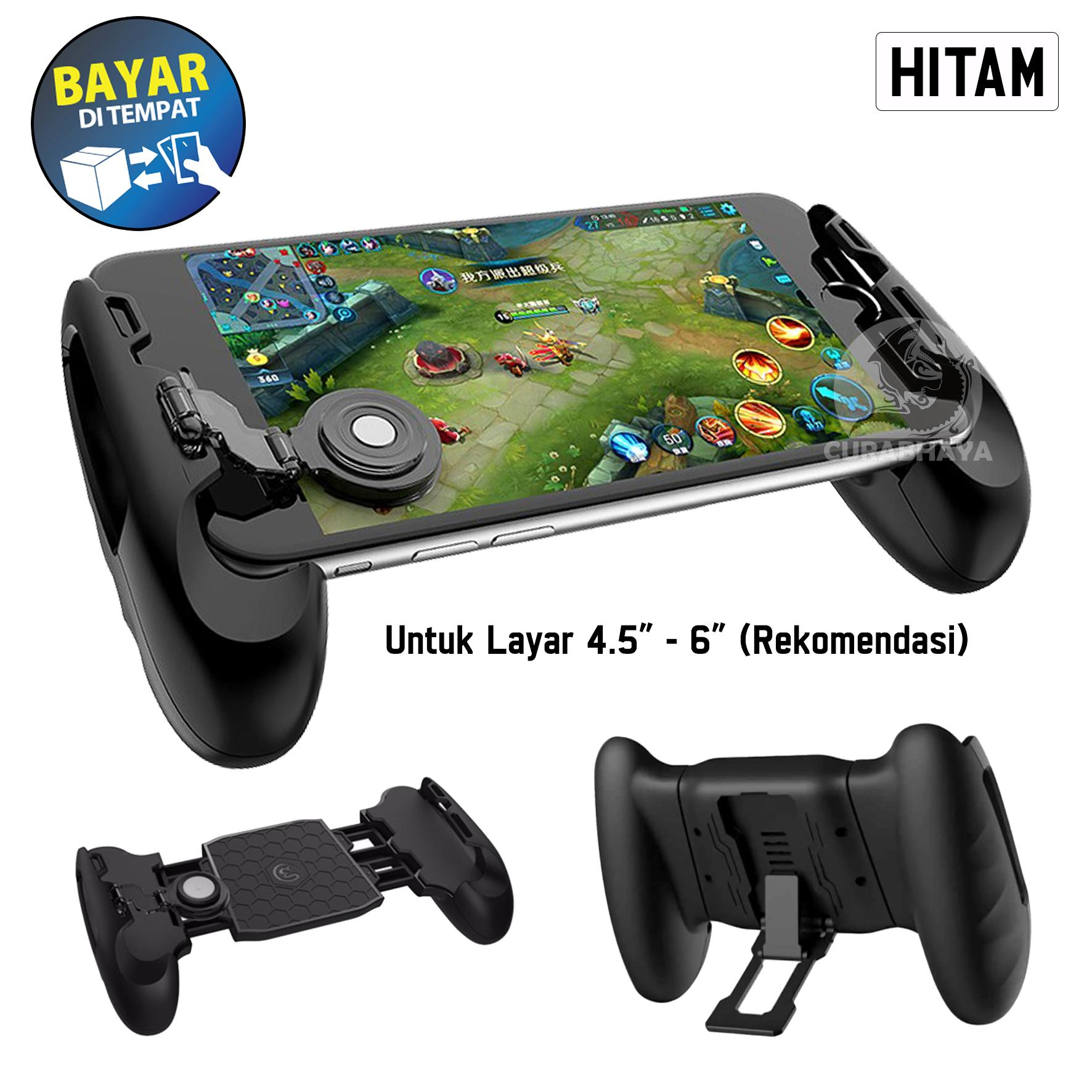 Gamepad F1 Controller Joypad Handle Grip Stand Gamepad With Joystick Universal Moba FPS for Mobile Legends