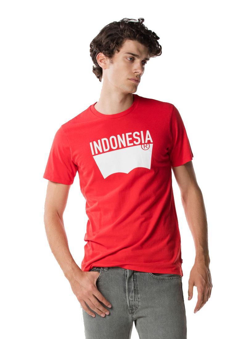 Jual Produk Levis Terlengkap Slim 2 Pack Crew Tee Two Black 82176 0003 Hitam L Destination Indonesia Red Pantone 18 21945 0180