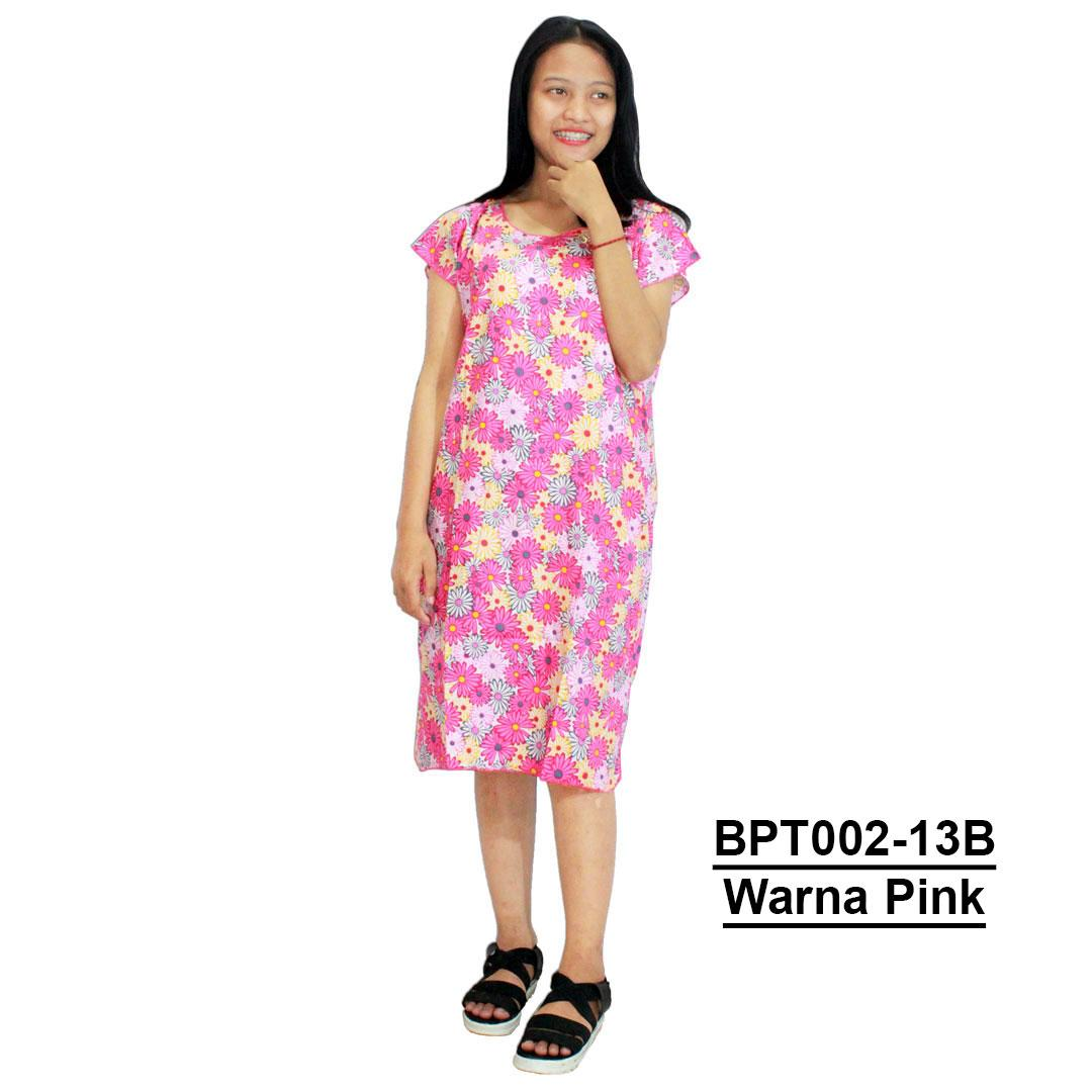 Midi, Daster Midi, Dress Santai, Baju Tidur, Piyama, Atasan Batik (BPT002-13) Batikalhadi Online
