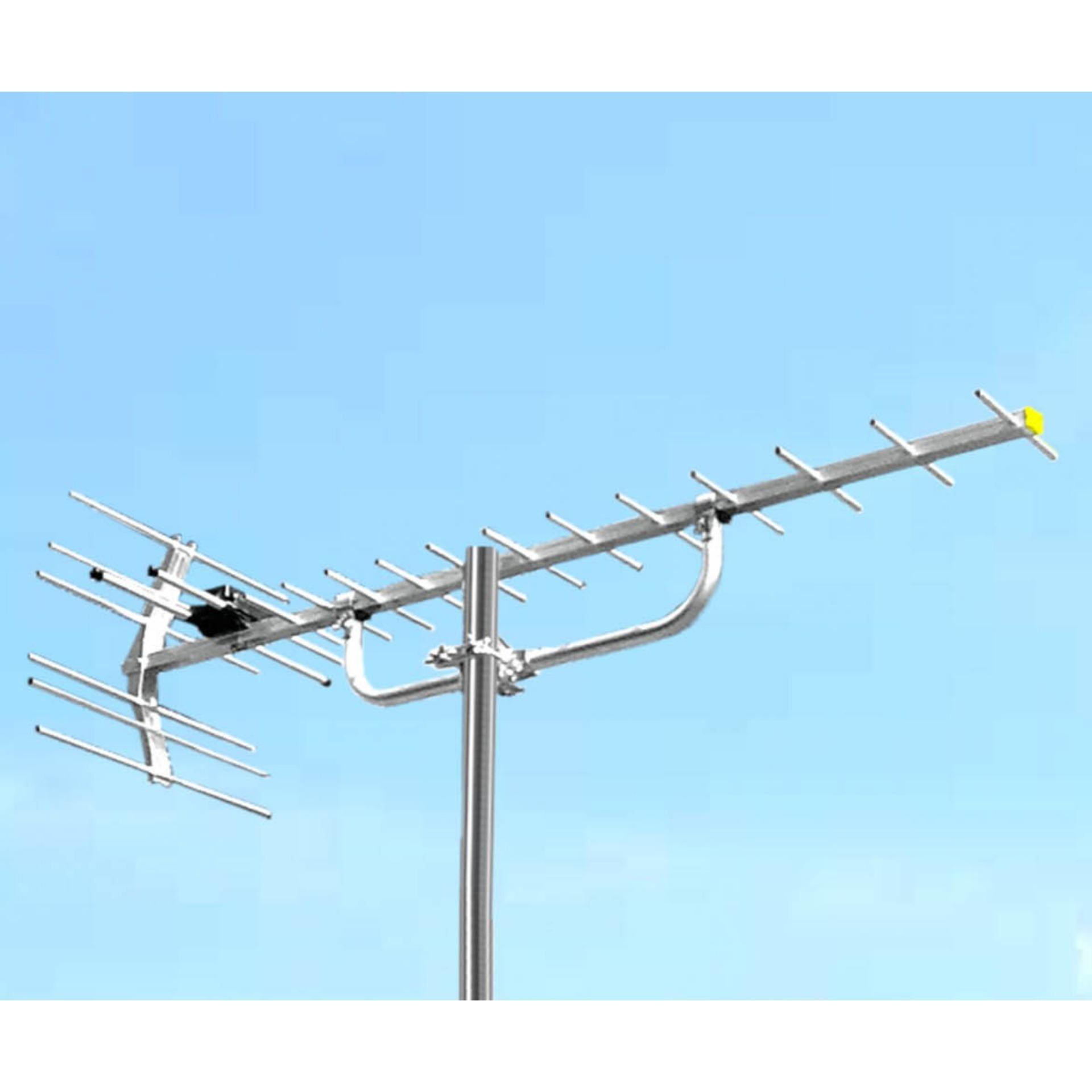 PF HDU-19 Antena Digital - High Gain serta Cocok untuk TV Analog dan TV