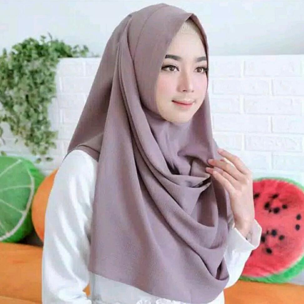 Buy Sell Cheapest Sala Instan Size Best Quality Product Deals Pashmina M Hijab