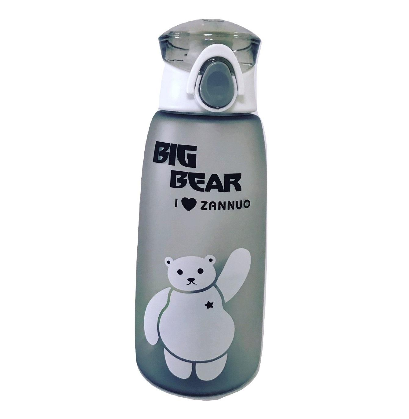 Botol Minum Infused Water Terbaik Tempat Makan Hamster 500ml Karakter Big Bear