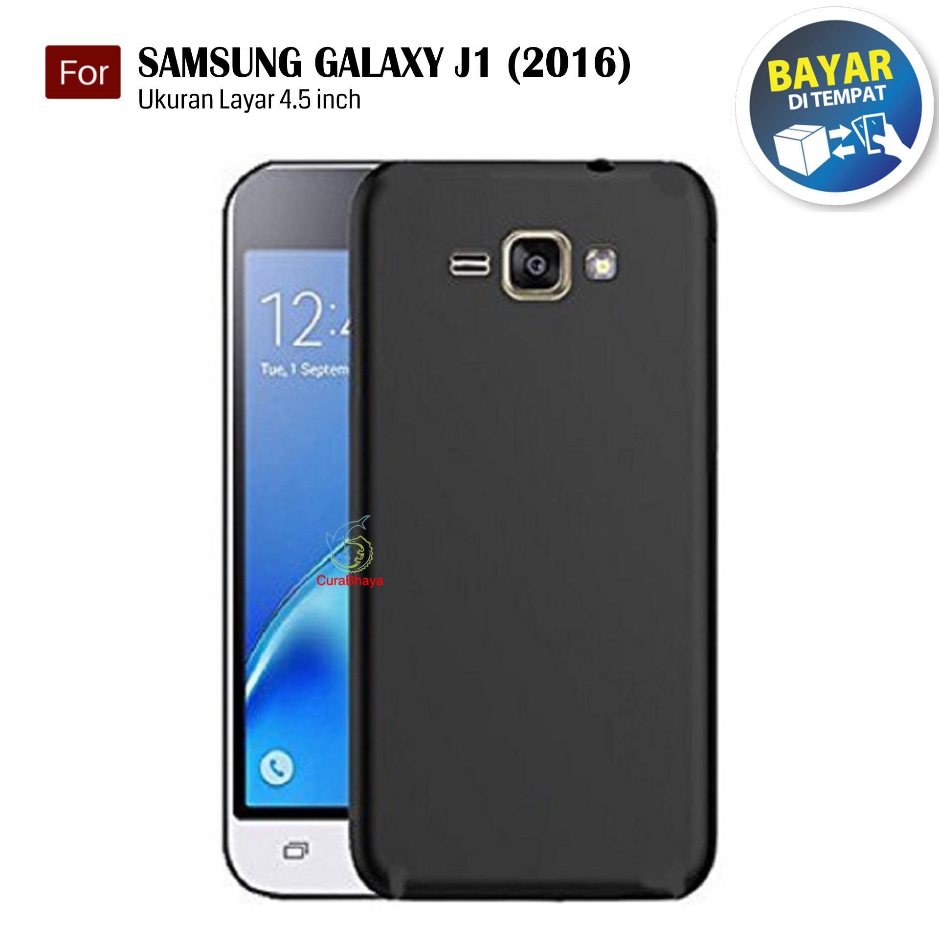 MidNight Samsung Galaxy J1 (2016) / J120 / Duos | Slim Case Black Matte