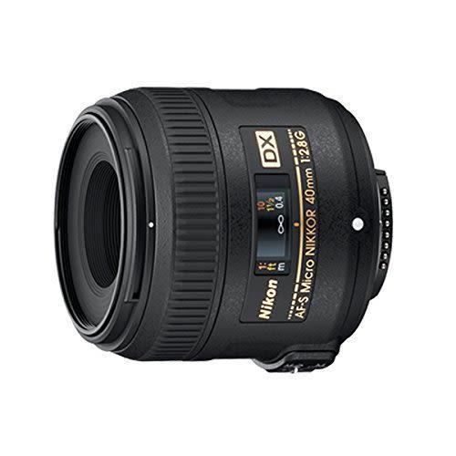 Nikon Monofocal Lensa Mikro AF-S DX Micro NIKKOR 40 Mm F/2.8G Nikon DX Format Hanya