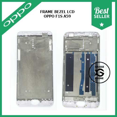Frame Tulang Tengah Bezel Middle Tatakan LCD Oppo A59 F1S