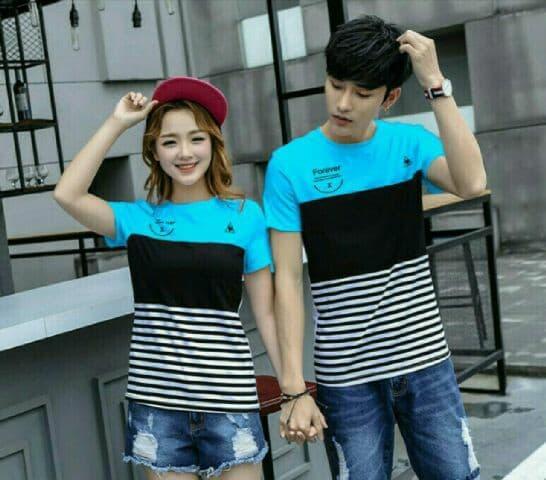 Jakarta Couple - Kaos Couple Forever X / Kaos Pasangan / Baju Couple