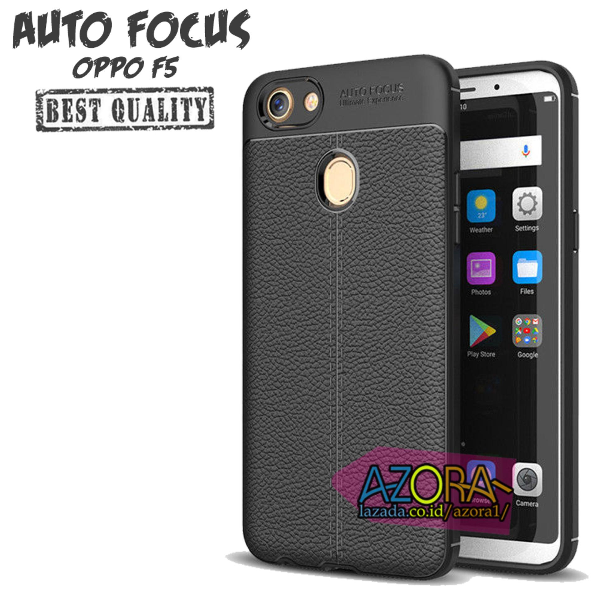 Case Auto Focus Oppo F5 / F5 Youth Leather Experience Slim Ultimate