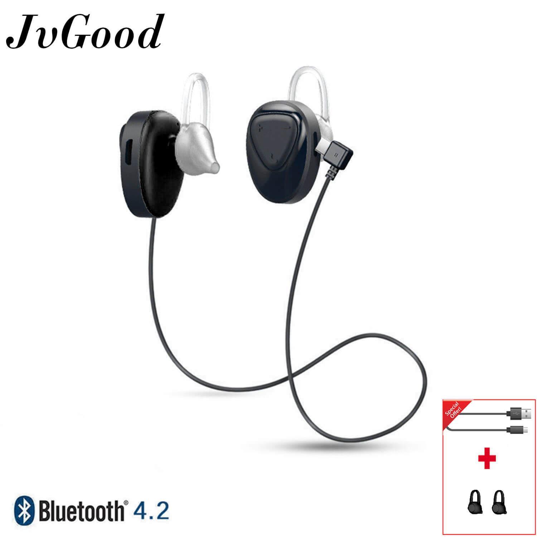 JvGood Nirkabel Olahraga Earphone Bluetooth Wireless Earbuds Bluetooth Headphone BL 02 Headset Stereo Headphone Smart