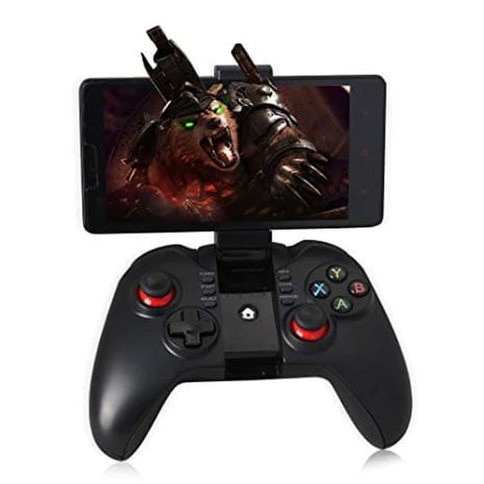 Gamepad Bluetooth Ipega PG-9068 Wirelles With Bracket / Aneka Steak Game Bluetooh Hp / Stand Game Smarphone Murah Terlaris