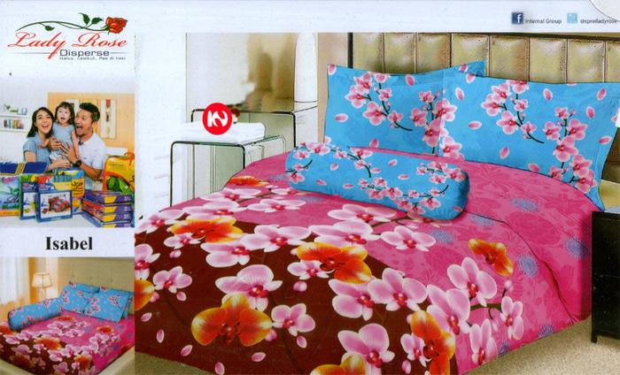 Bedcover Lady Rose Disperse 180 - Isabel Exclusive