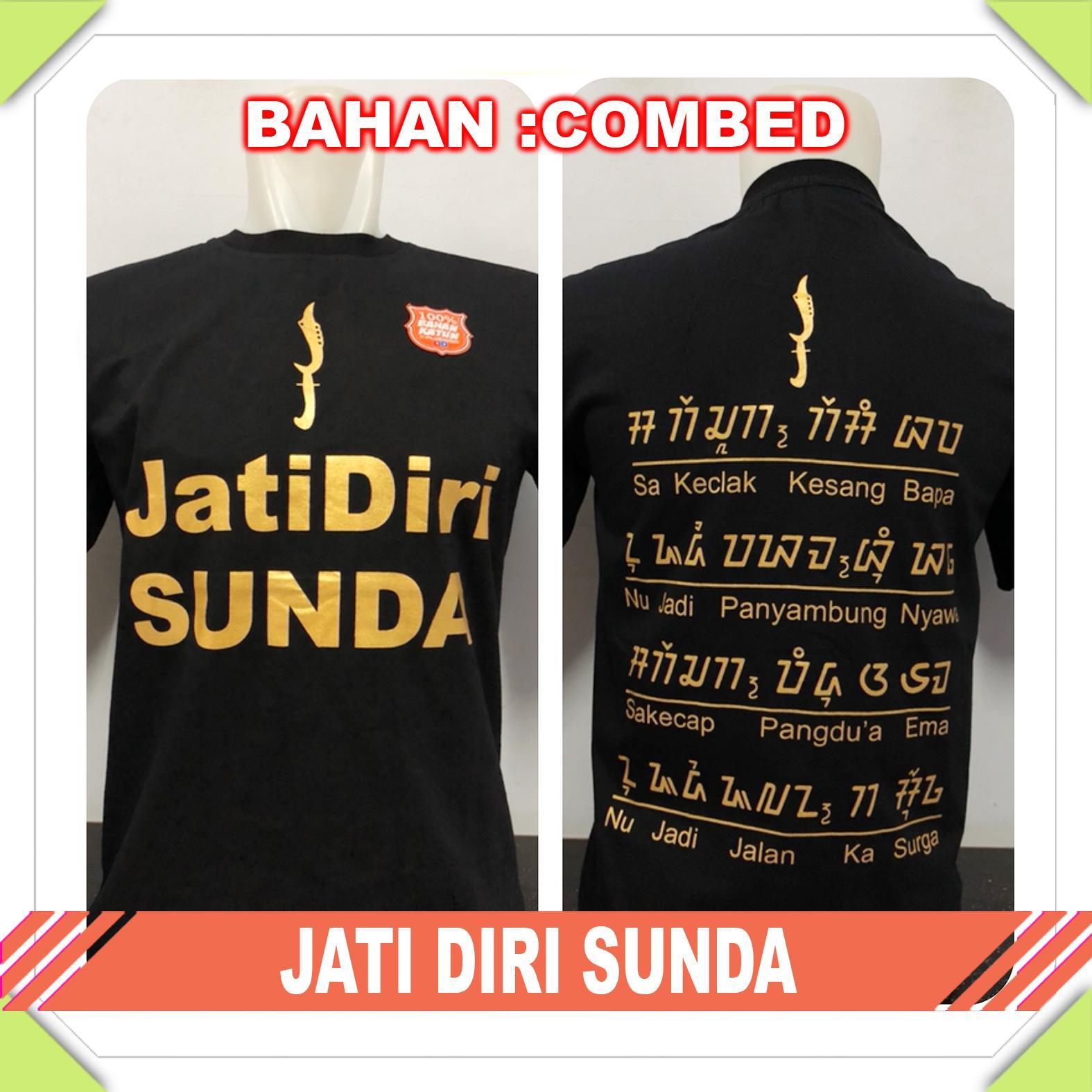 Supplier Natgeo - [KAOS DISTRO] Baju Tshirt Trendy sunda JATI DIRI SUNDA Dewasa
