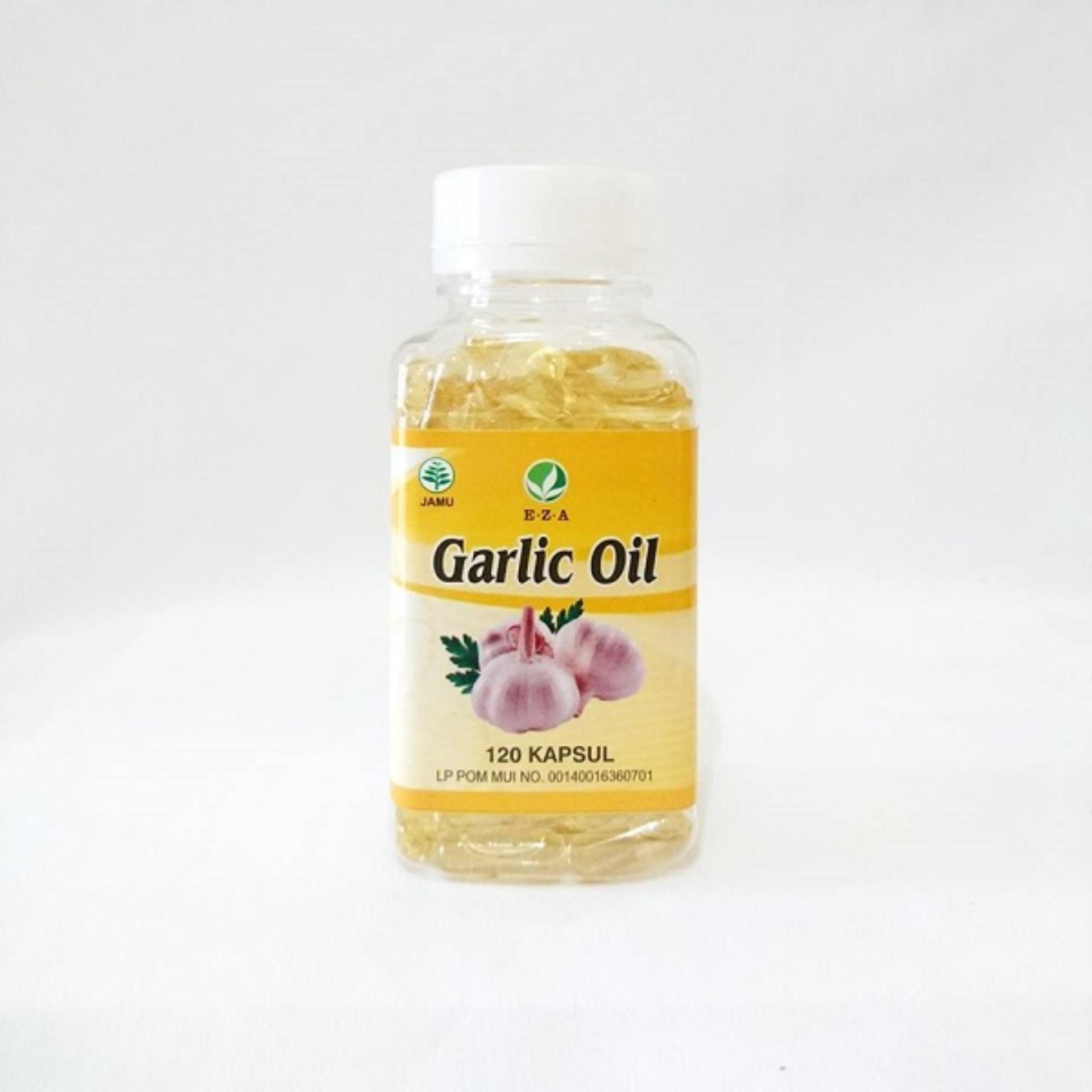 Kapsul Garlic Oil Eza 120 Kapsul | Sebagai Penawar Racun