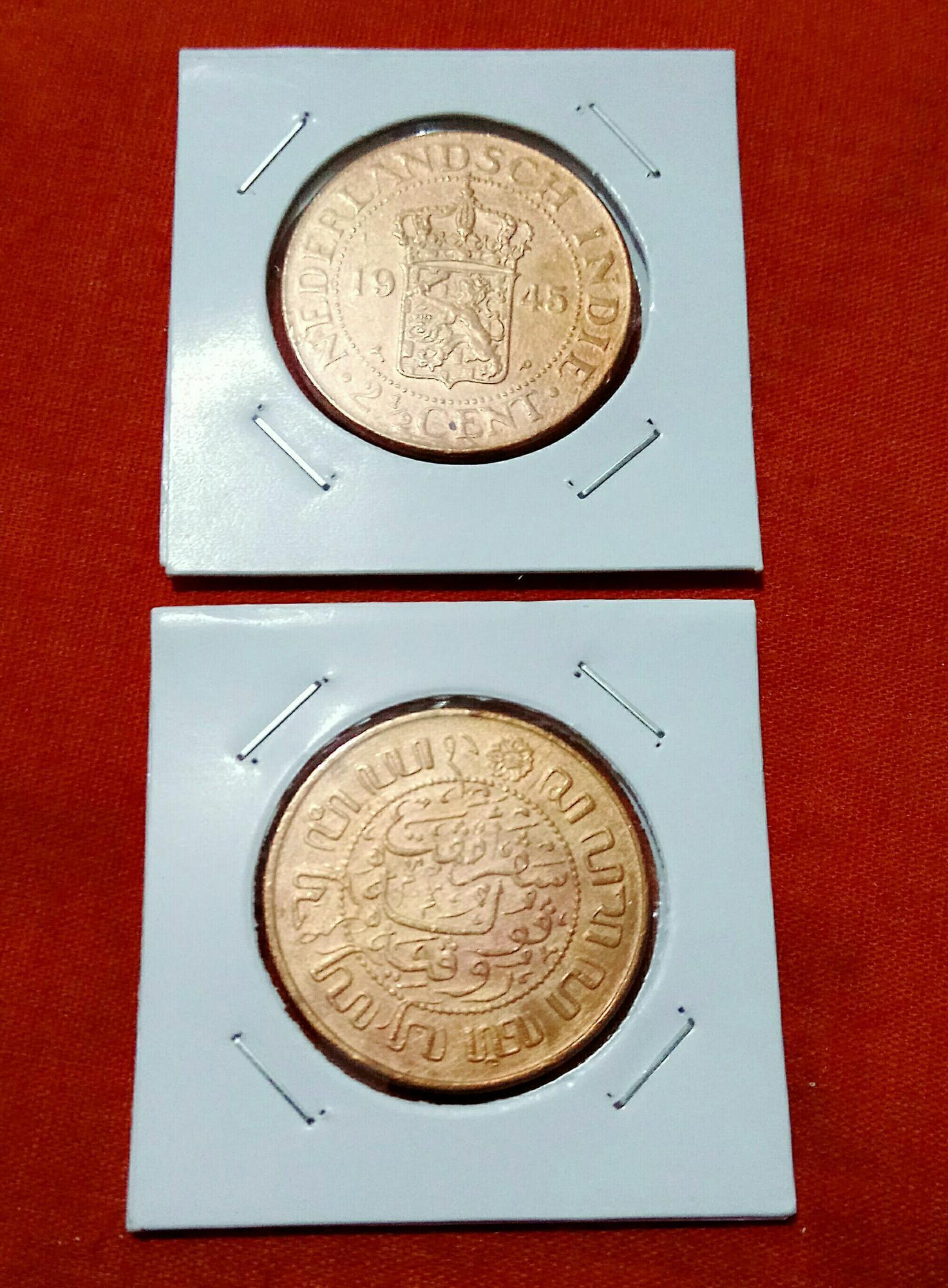 Uang Kuno BENGGOL 2,5 CENT 1945