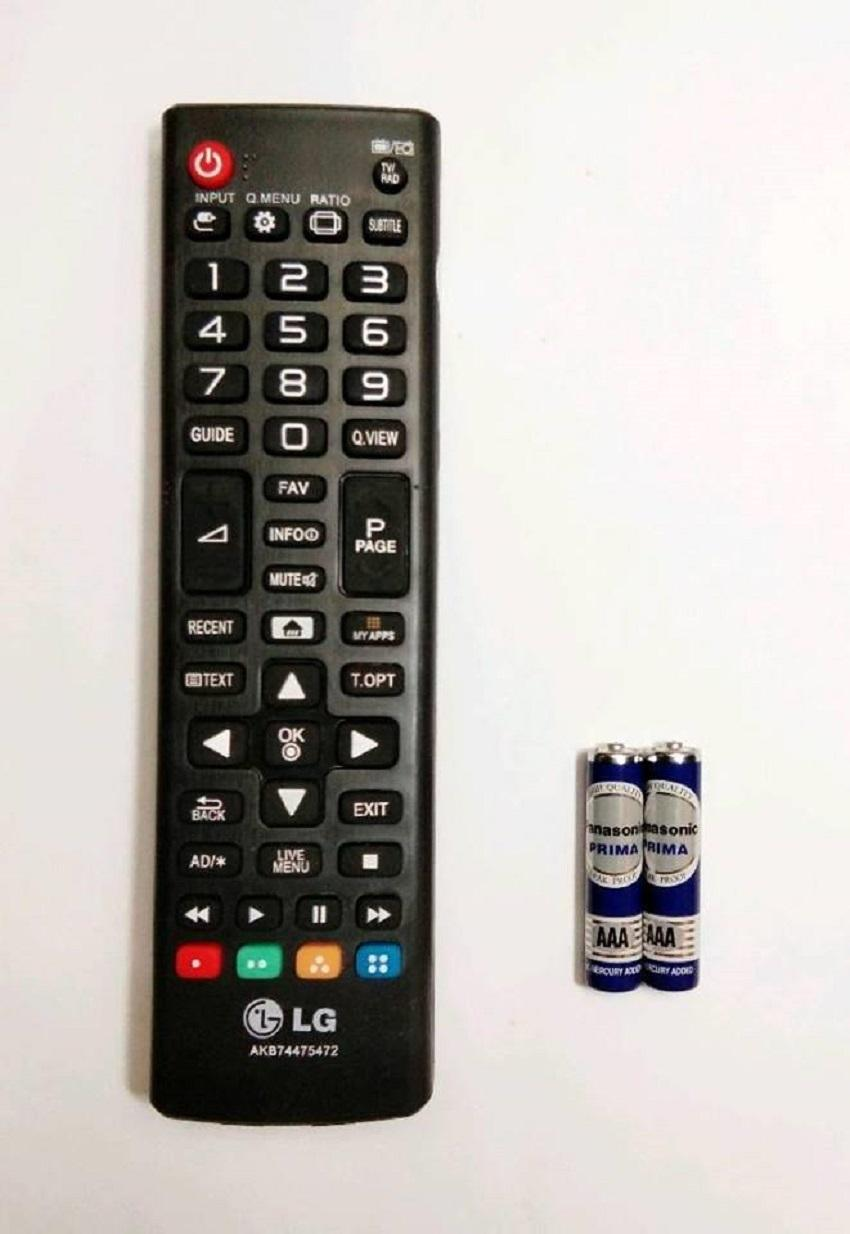 LG Remote TV LED/LCD SMART AKB74475472 - Hitam