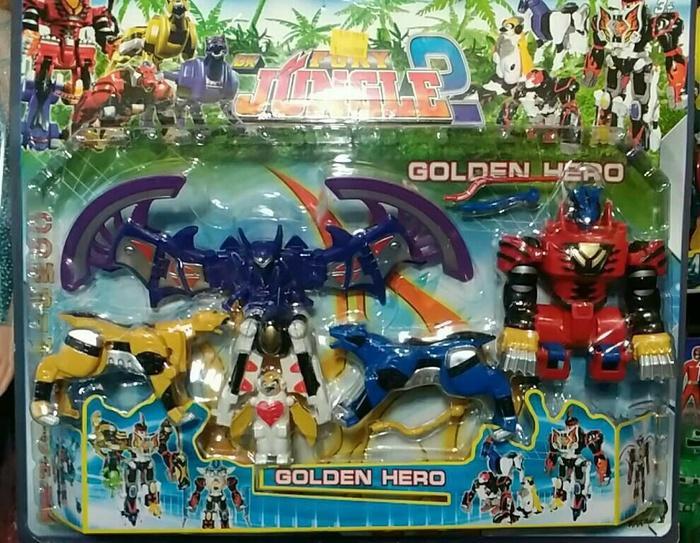 Fury The Golden Hero Jungle Robot Power Ranger - V0iZpo