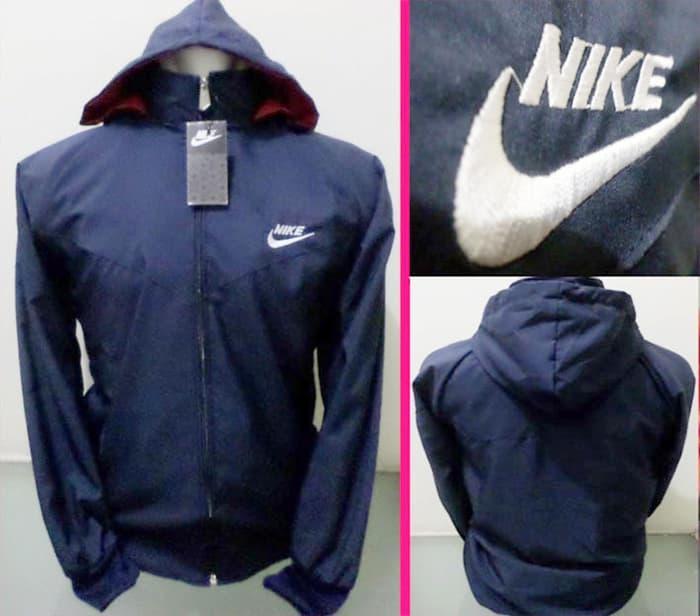 HARGA DISKON!!! Jaket Parasut Nike Navy - p4OIMP