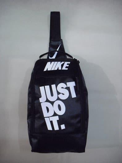 HARGA DISKON!!! Tas NIKE Selempang Just Do It Black White - 31KUwc