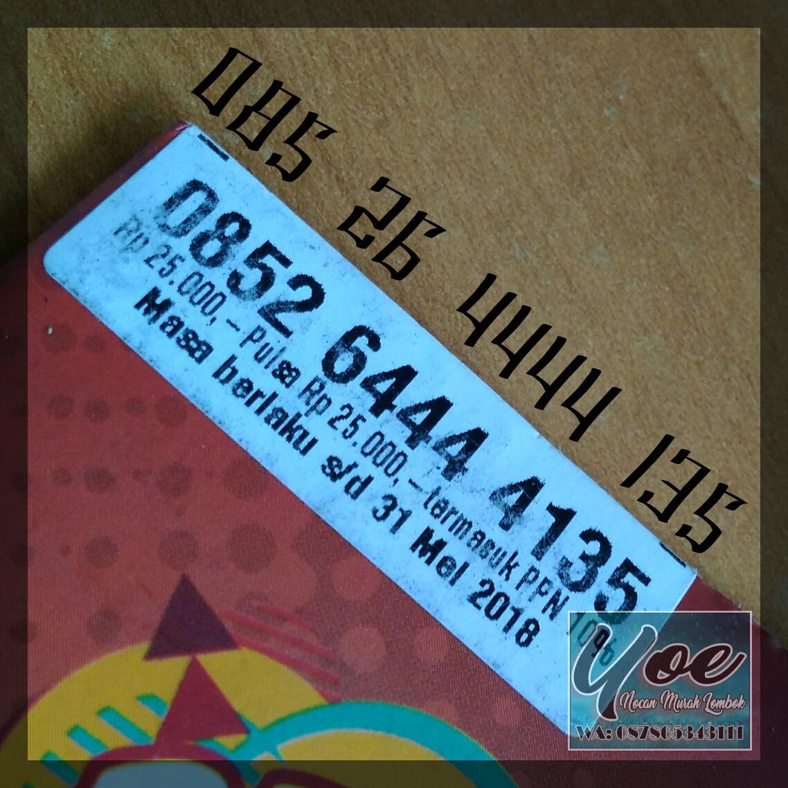 Nomor Cantik AS Kuartet 4444