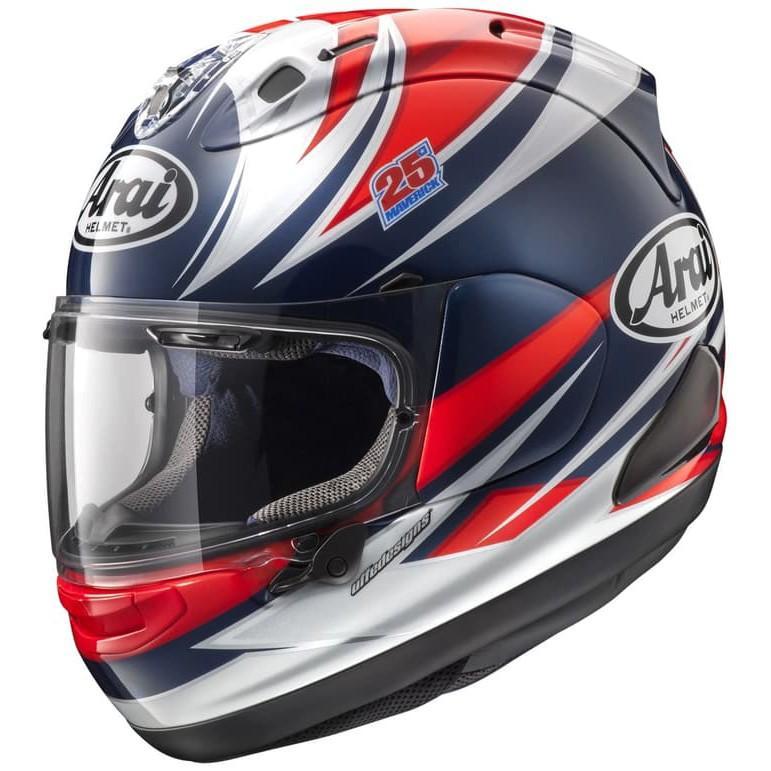 Arai RX7X Vinales Helm Full Face - White Blue White