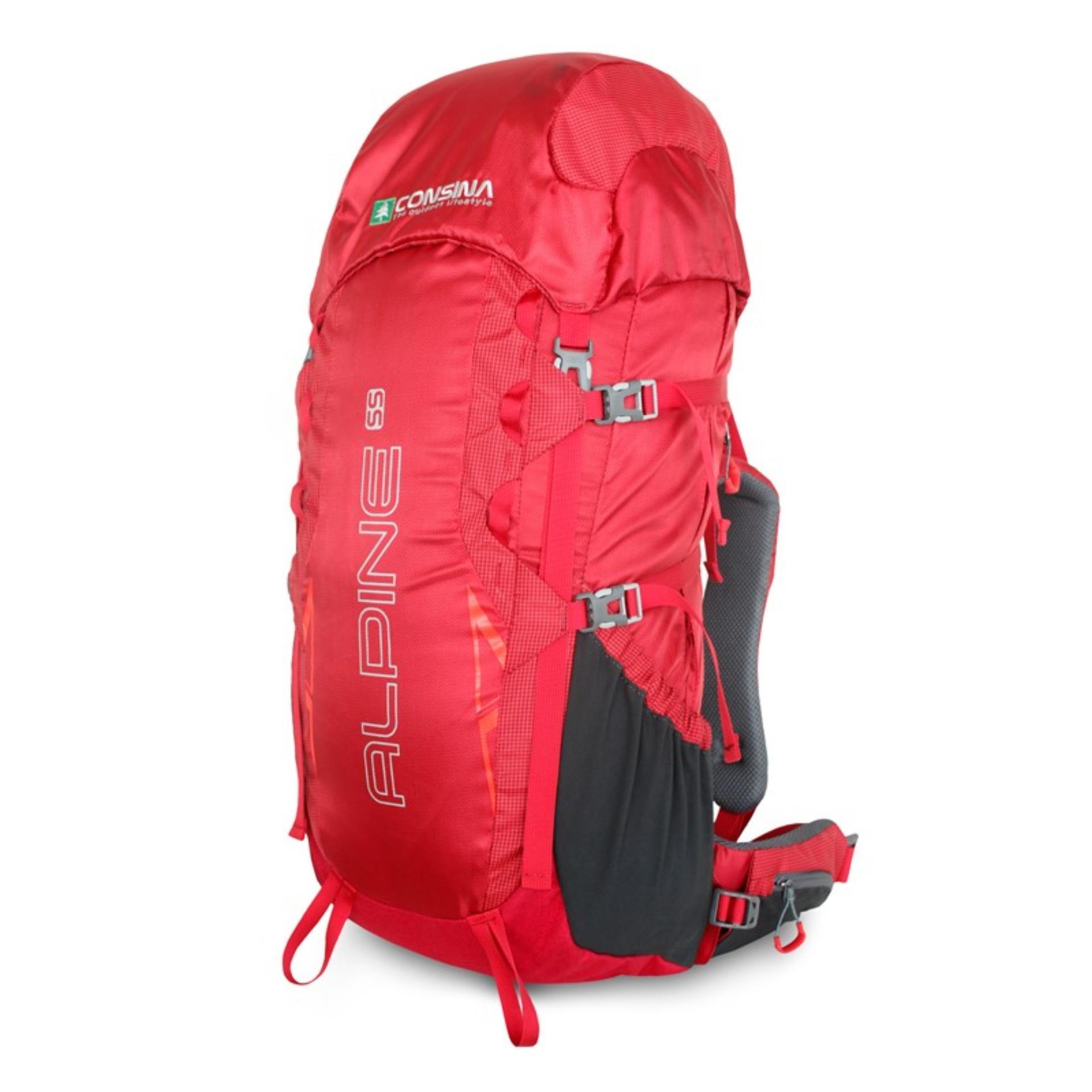 CONSINA ALPINE 55 L Backpack/Ransel/Tas Gunung/Carier