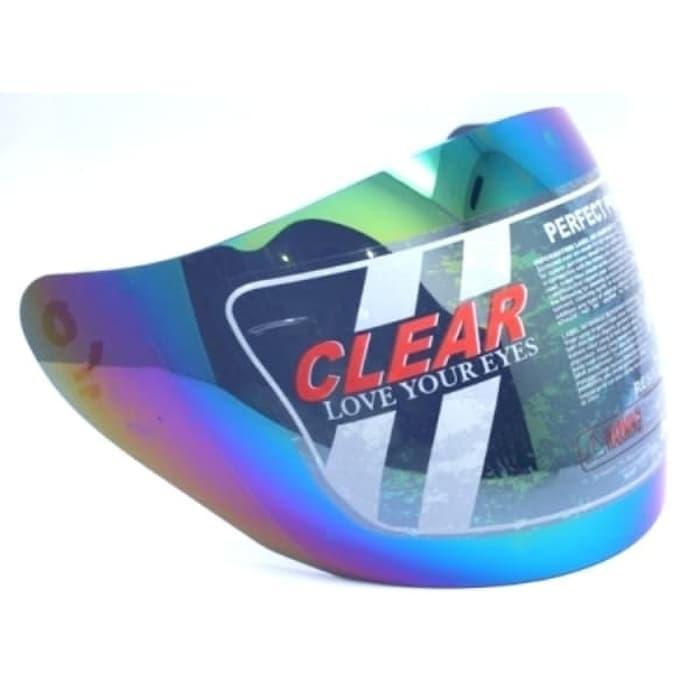 KACA HELM KACA CLEAR NO.26 RAINBOW CEN2 TANPA PET