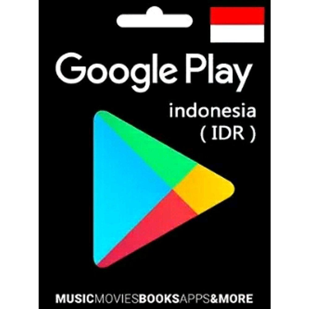 Google Play Gift Card Indonesia IDR 20000