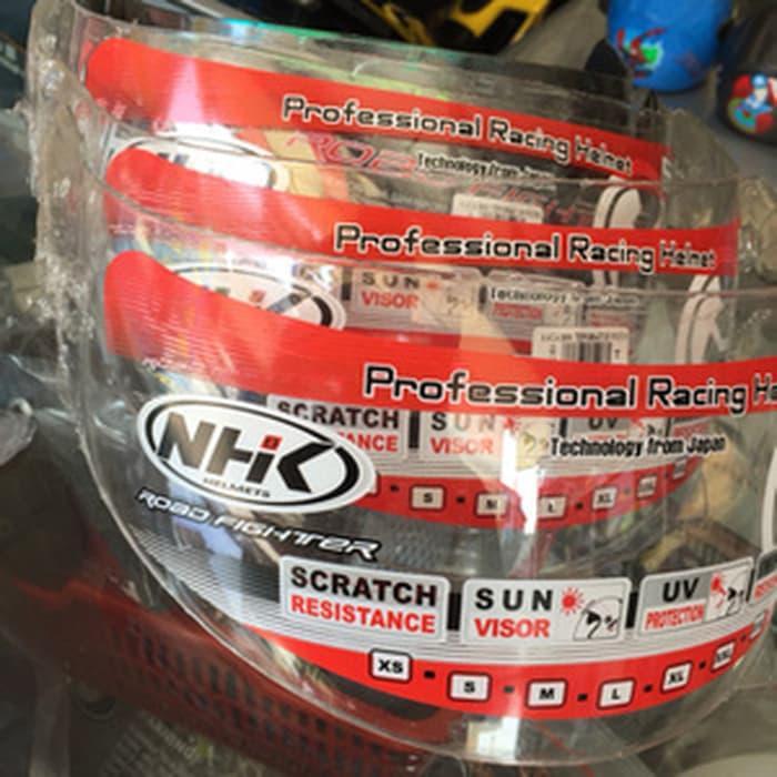 Kaca Helm Visor NHK Terminator Bening