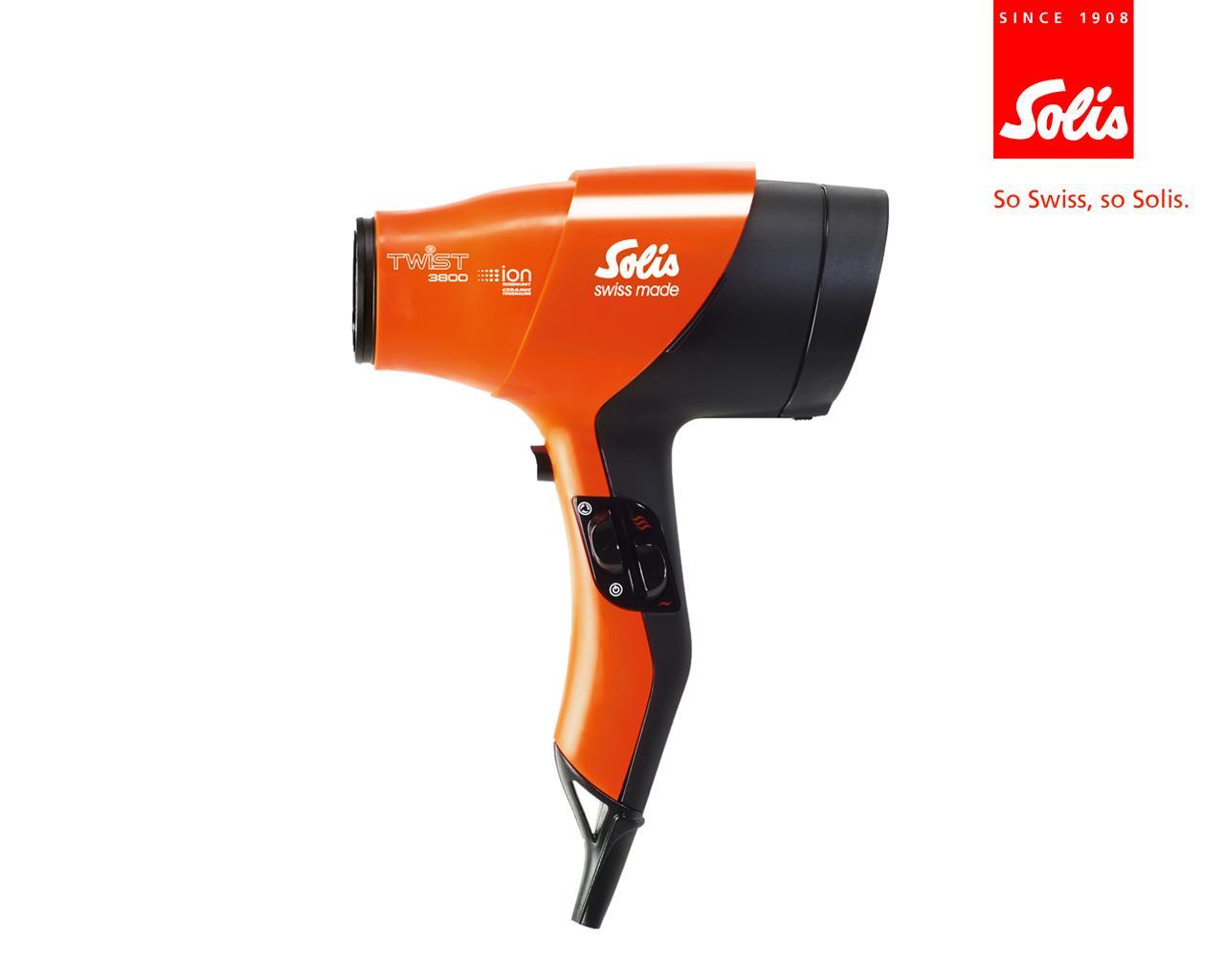 Solis Twister Ion Hair dryer -2000w-
