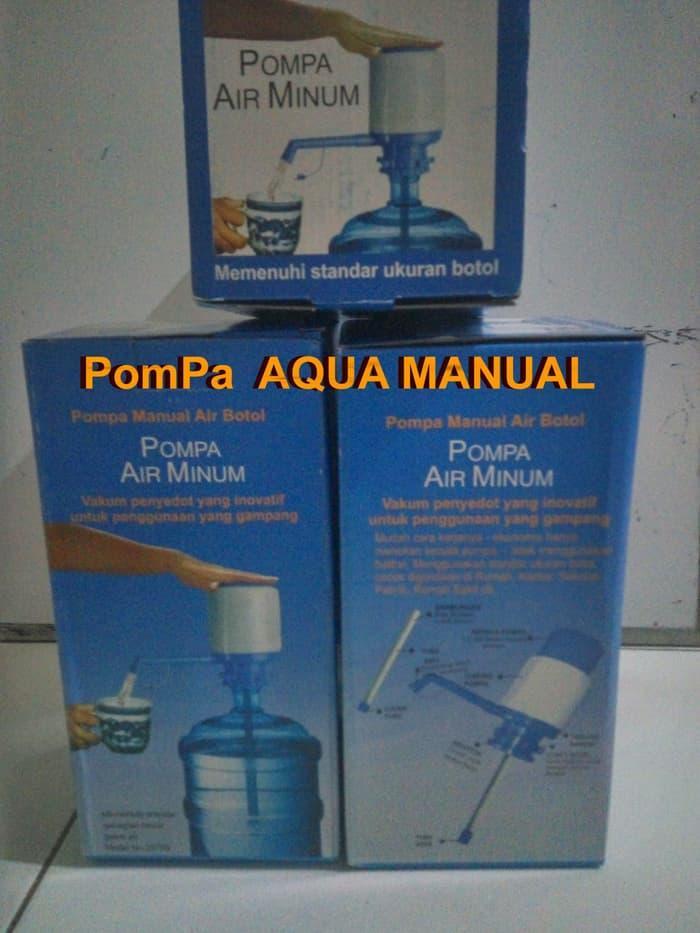 ORIGINAL!!! Pompa Aqua Galon gak Elektrik PORTABLE Adaptor Listrik manual - FutZfs