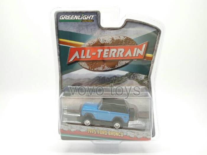 GREENLIGHT 1:64 ALL-TERRAIN SERIES 2 - 1975 FORD BRONCO