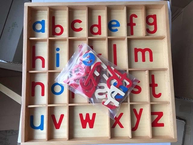 Rp 260.400. Mongolia dan Taiwan Montessori Montessori pendidikan usia dini Mainan bayi Kendur 字母箱 bayi muda meningkatkan kepandaian anak-anak ...