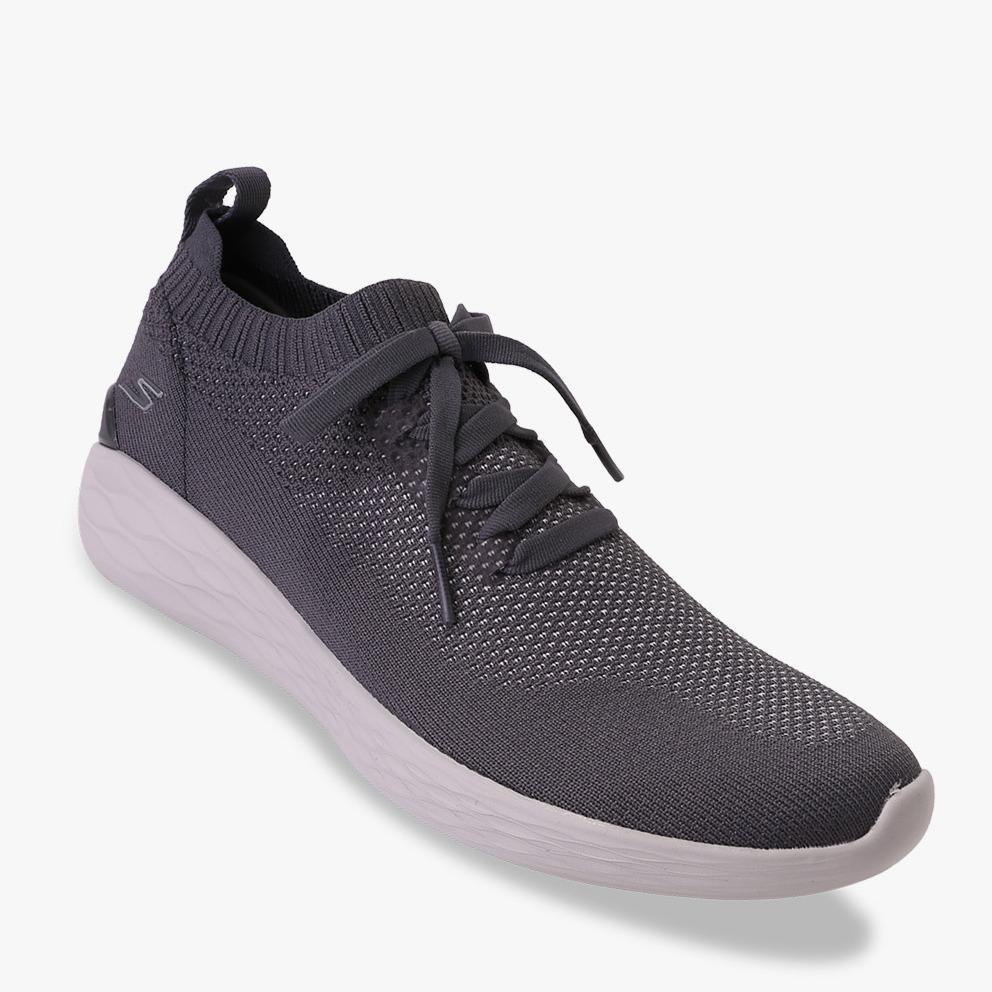Skechers GOstrike - Altitude Sepatu Sneakers Pria - Abu-Abu 5ba6a30459