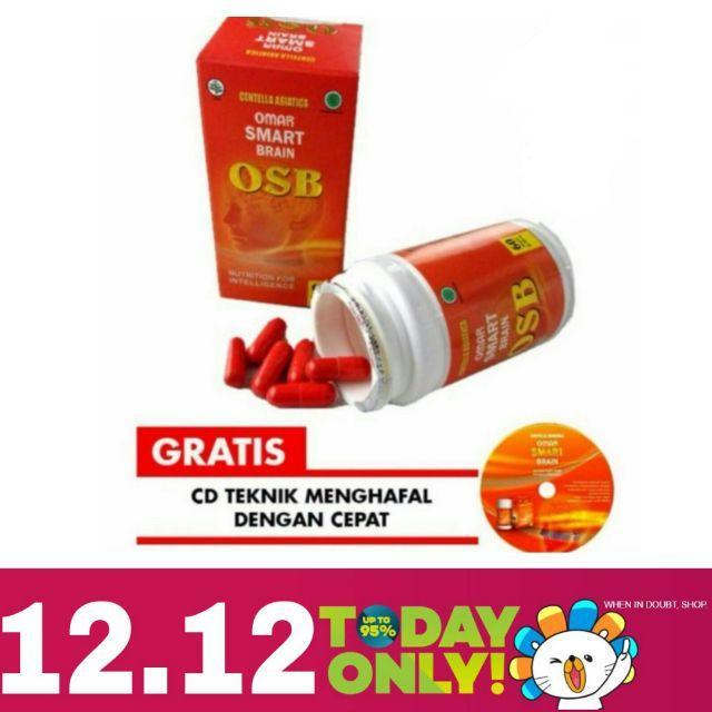 Osb Vitamin Suplemen Otak Dongkrak Kecerdasa 60 Kapsul By Gerai Ghaida.