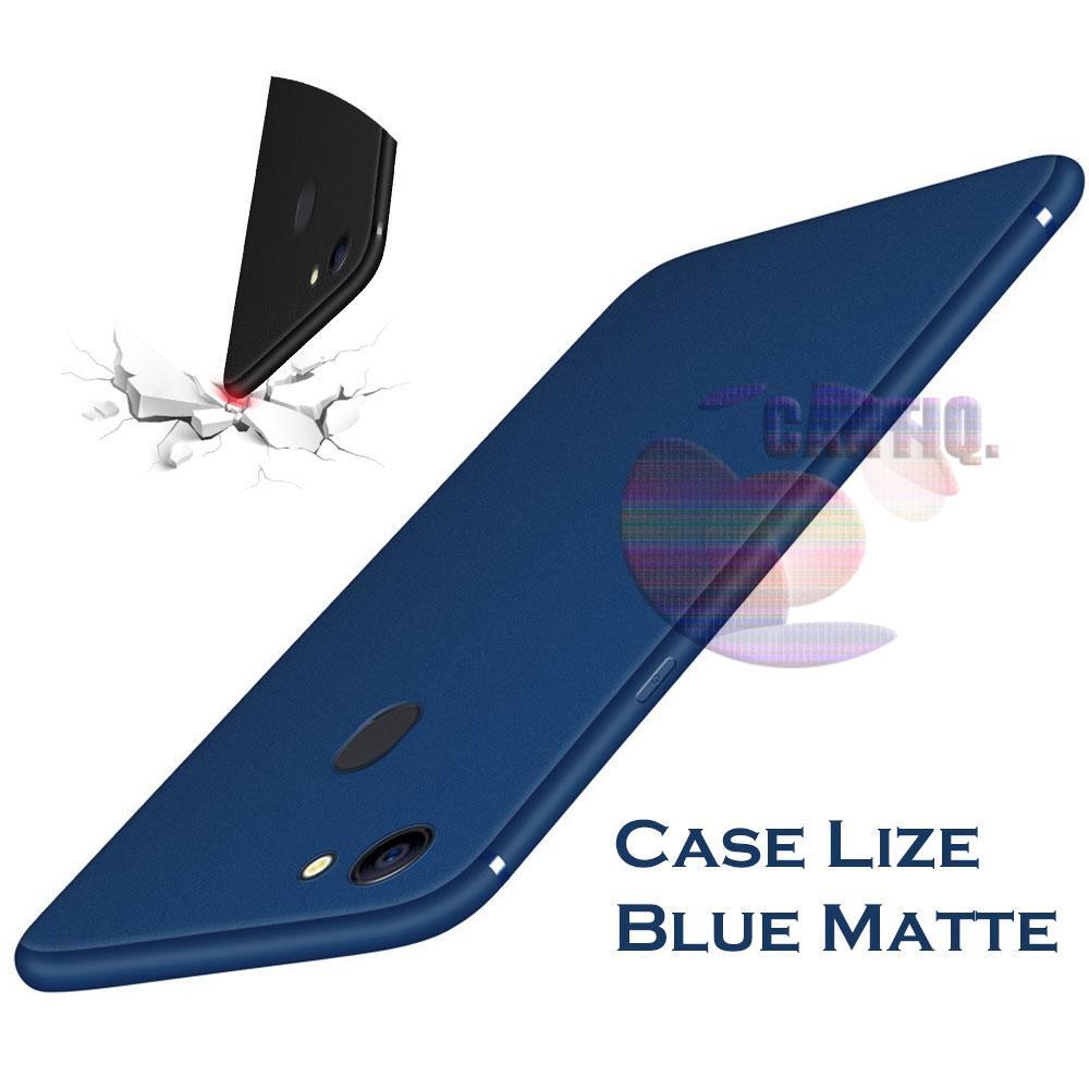 Lize Case Oppo F7 Rubber Silicone Anti Glare Skin Back Case / Silikon Oppo F7 / Jelly Case / Ultrat