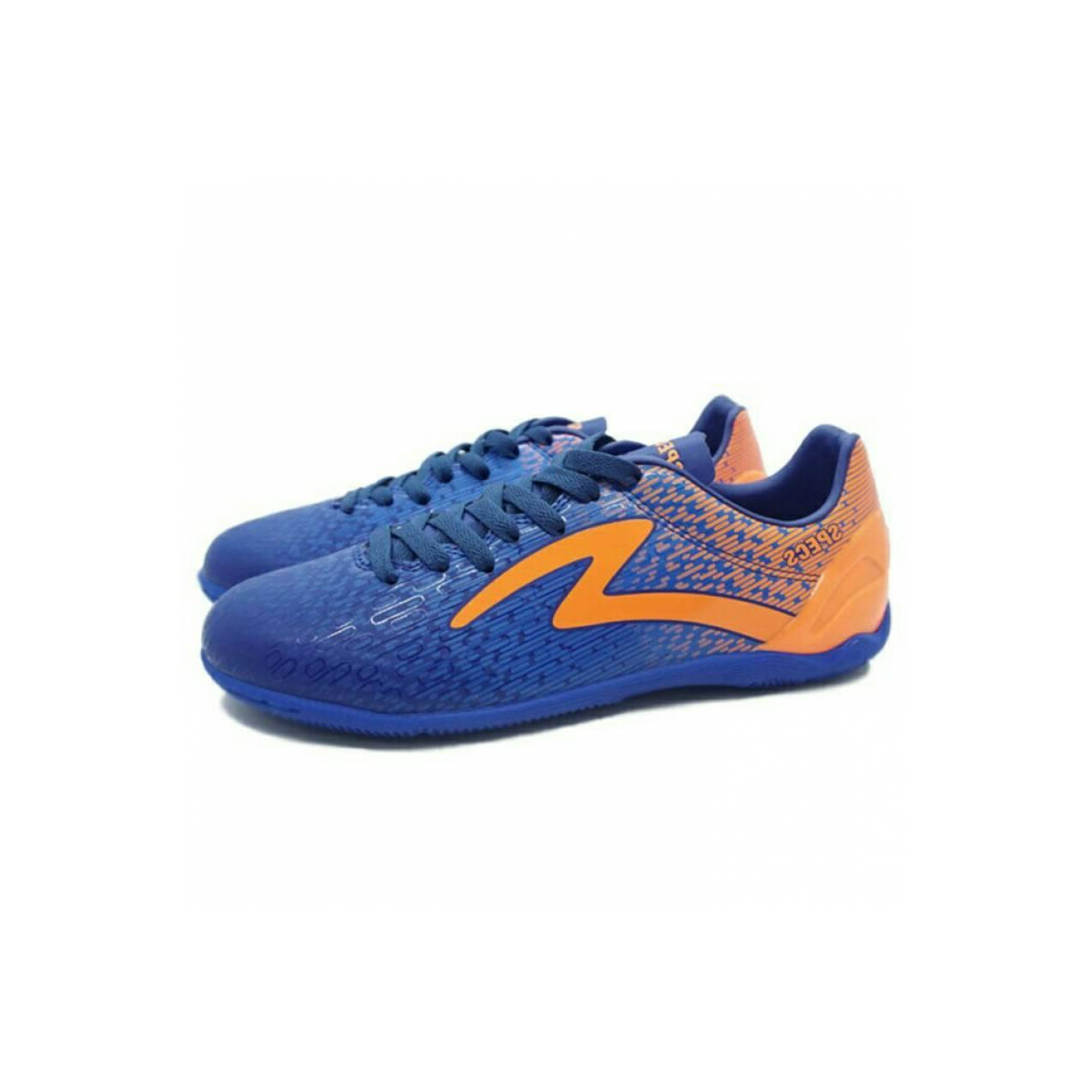 Sepatu Futsal Specs Photon IN (Navy/Tulip Blue/Mango Orange)