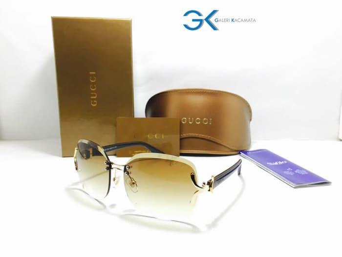 TERLARIS Kacamata Sunglasses Fashion Cewek Guci 18607 Lucu Lucu Banget