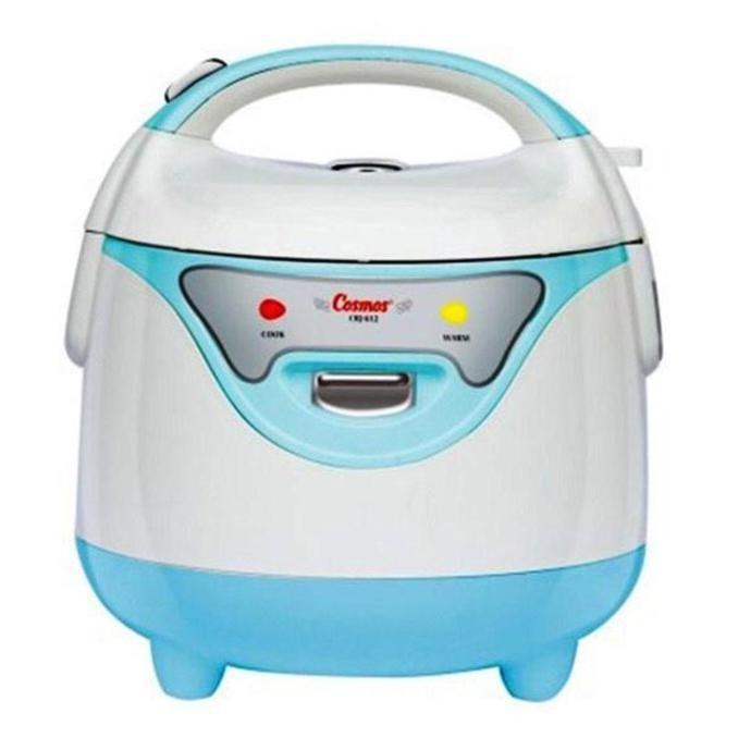 Cosmos Magic Com / Rice Cooker Kecil 0.8L Harmond - Crj-612 Biru Stok Terbatas !!