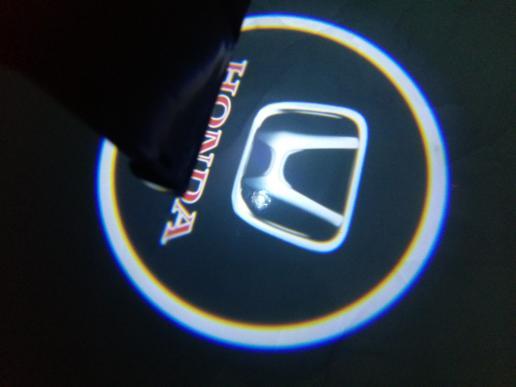 lampu LED proyektor LOGO HONDA-TOYOTA-NISSAN | ( lampu  mobil hid plafon depan rem sorot led h4 kabut fog lamp tembak variasi strobo rem toyota innova hid avanza osram )
