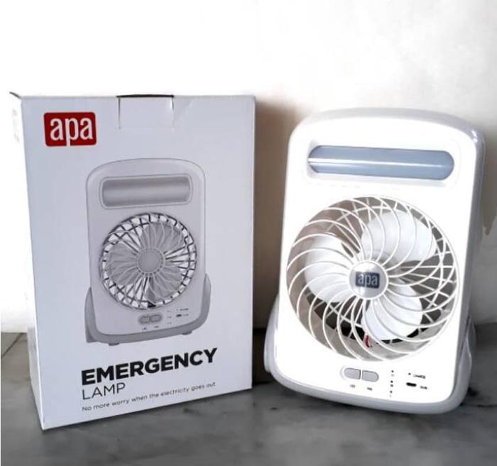 Bayar Di Tempat / Lampu Emergency Plus Kipas / Apa Ace Hardware / Emergency Lamp And Fan