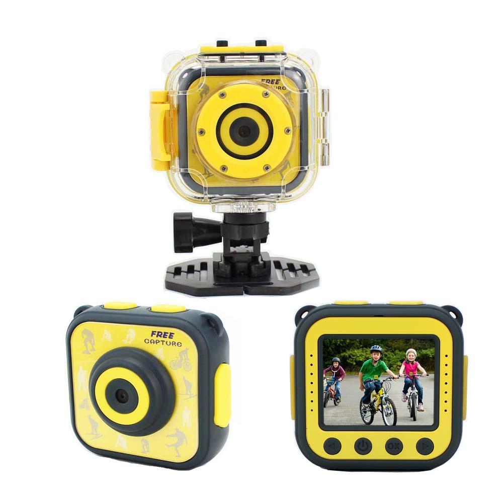 Lucu Anak Mini Kid Kamera 720P Digital Video Portable Camcorder dengan 1.77