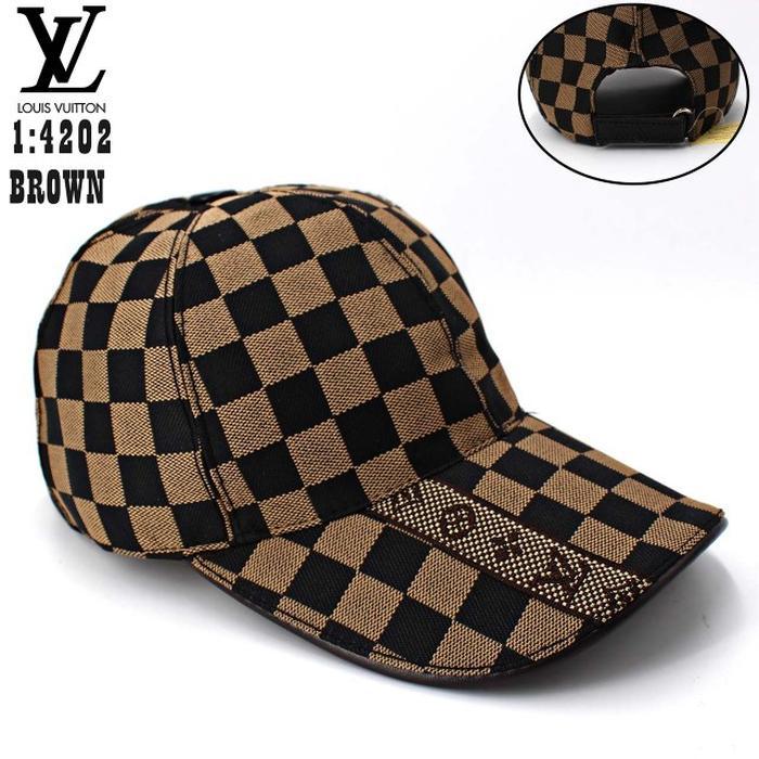 Topi Lv Semi Premium Import Bahan Kanvas Bagus