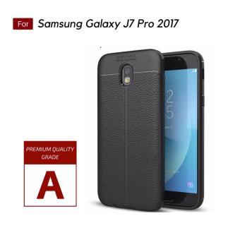 Harga preferensial Annisastore Casing Leather Softcase For Samsung Galaxy J7 Pro 2017 / J730 - Black